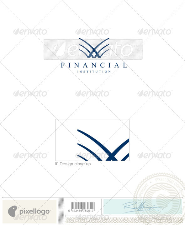 Business & Finance Logo - 958 - Vector Abstract