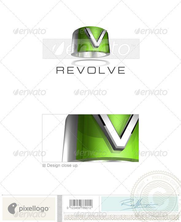 V Logo - 3D-547-V - Letters Logo Templates