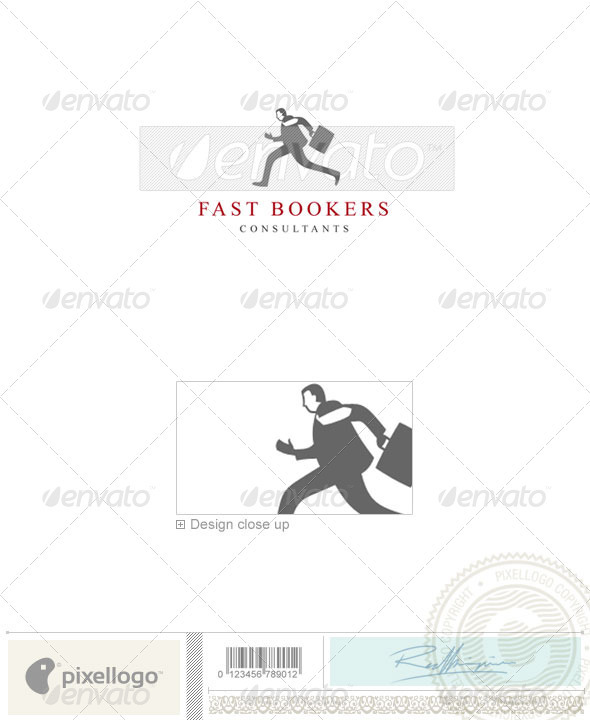 Business & Finance Logo - 1131 - Humans Logo Templates