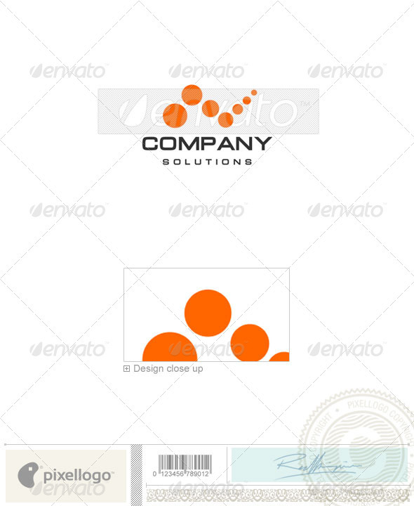 Communications Logo - 919 - Vector Abstract