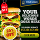 Delicious Banner ad Design - GraphicRiver Item for Sale