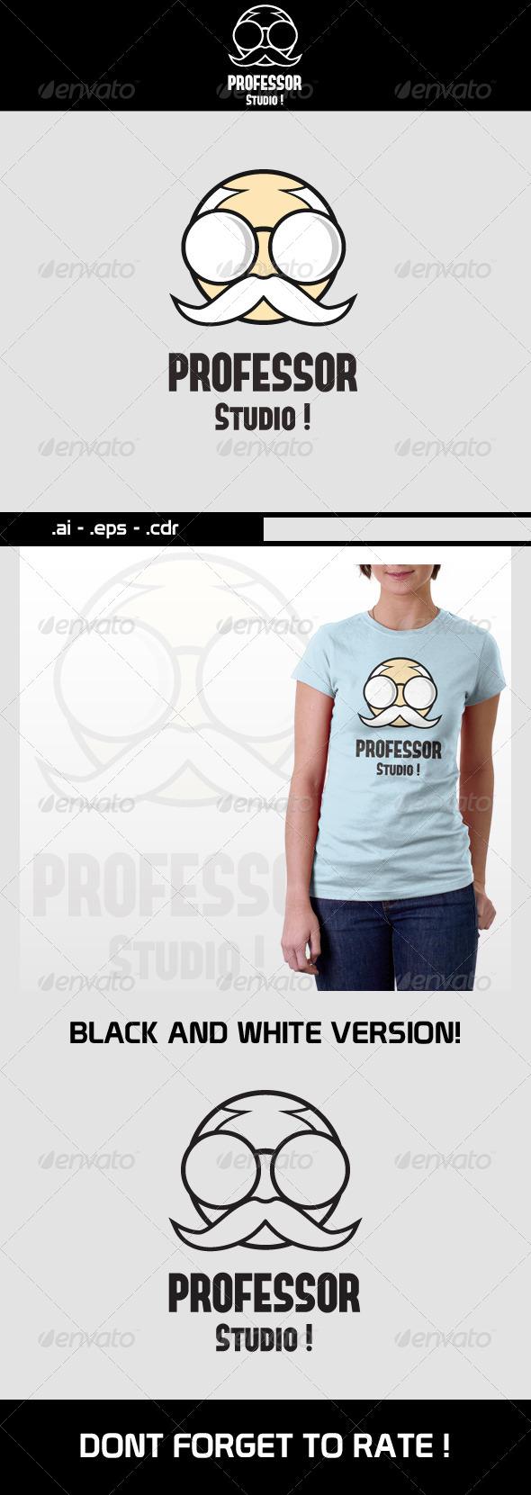 Professor Studio Logo - Humans Logo Templates