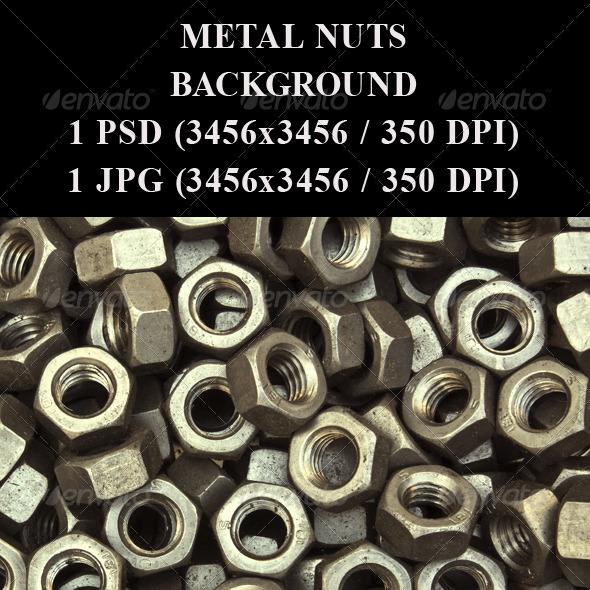 Metal Nuts  - Industrial / Grunge Textures