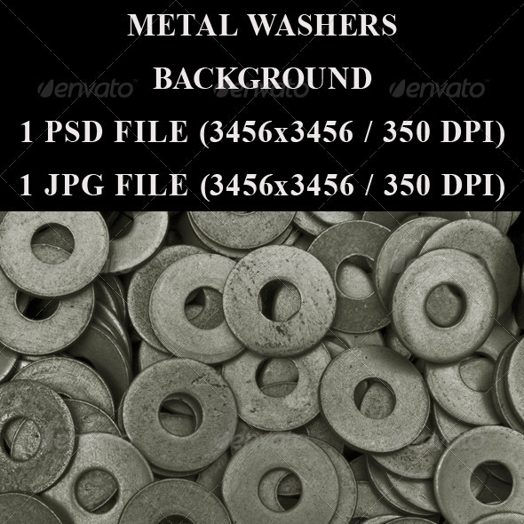 Metal Washers - Industrial / Grunge Textures
