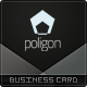 Poligon Business Card - GraphicRiver Item for Sale