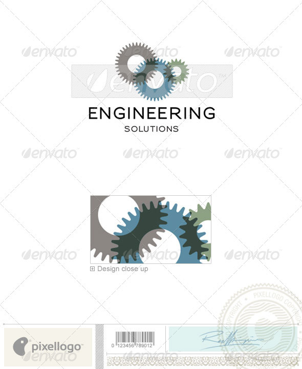 Industry & Science Logo - 112 - Objects Logo Templates