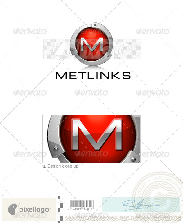 Abstract Logo - 3D-552 - Letters Logo Templates