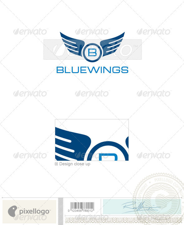 Aviation Logo - 2296 - Symbols Logo Templates