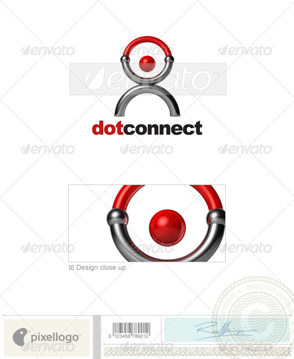 Communications Logo - 3D-587 - 3d Abstract