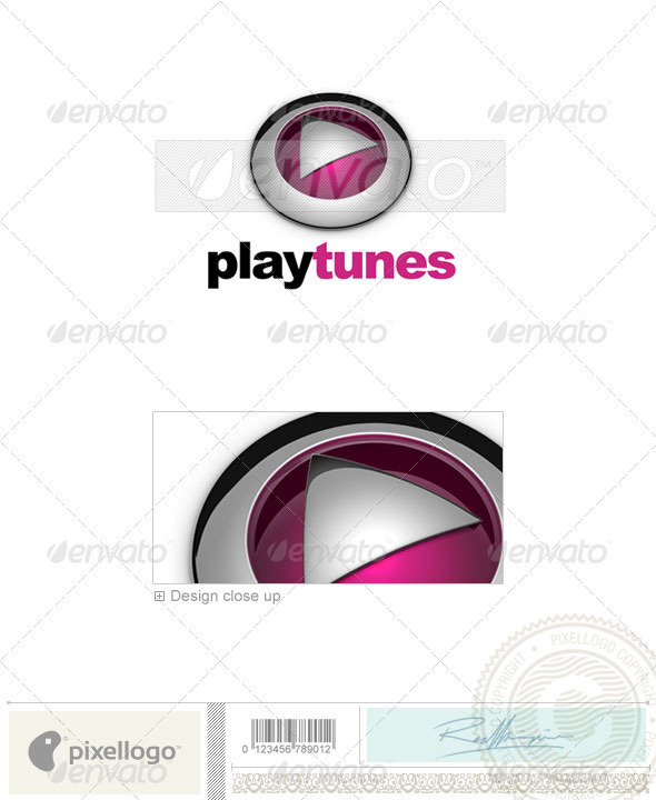Activities & Leisure Logo - 3D-574 - 3d Abstract