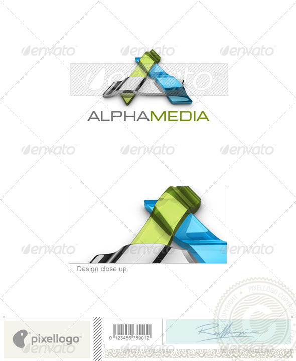 Technology Logo - 3D-536 - 3d Abstract