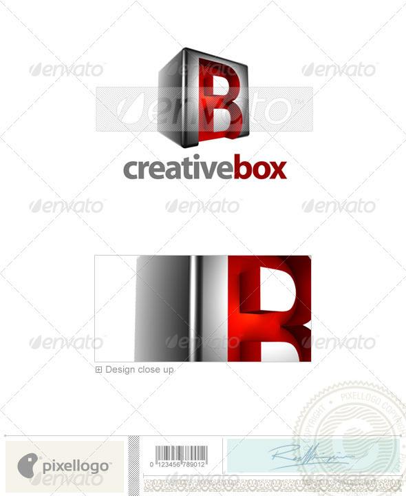 B Logo - 3D-554-B - Letters Logo Templates