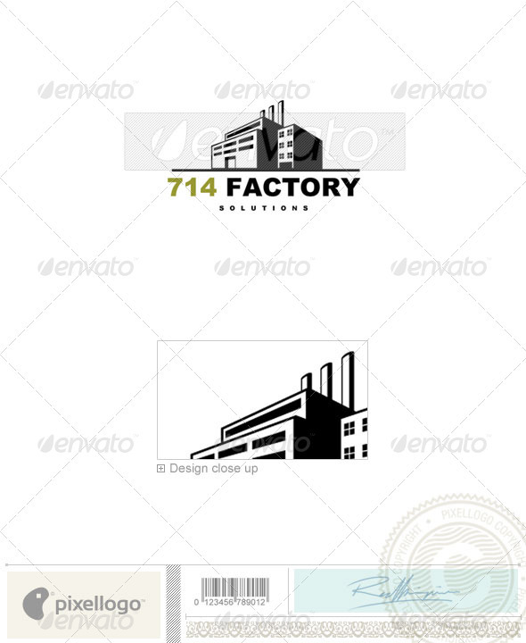 Home & Office Logo - 714 - Buildings Logo Templates