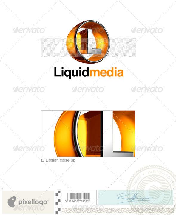 L Logo - 3D-438-L - Letters Logo Templates