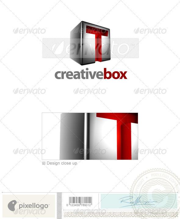 T Logo - 3D-554-T - Letters Logo Templates