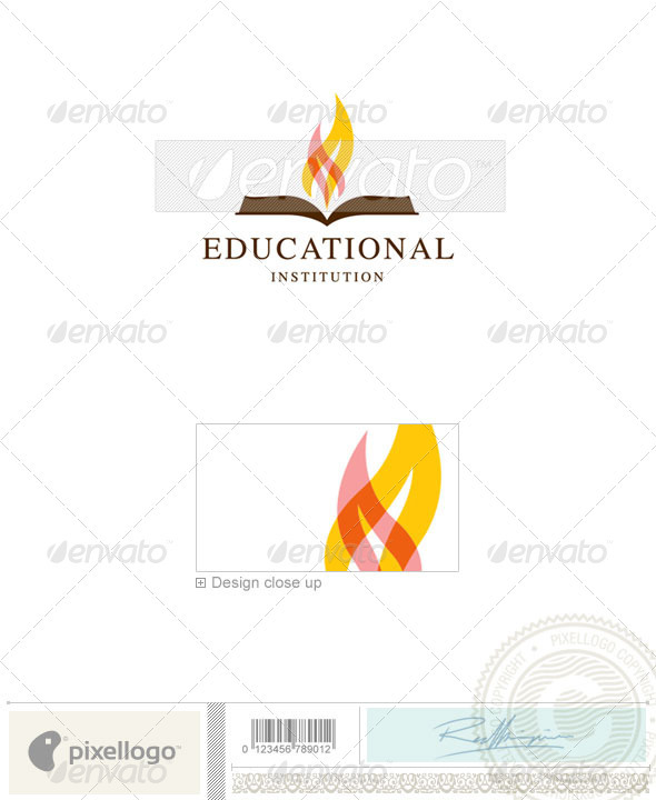 Education Logo - 2306 - Symbols Logo Templates