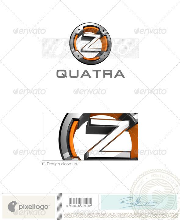 Z Logo - 3D-494-Z - Letters Logo Templates