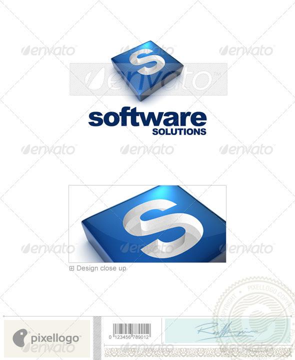 S Logo - 3D-644-S - Letters Logo Templates