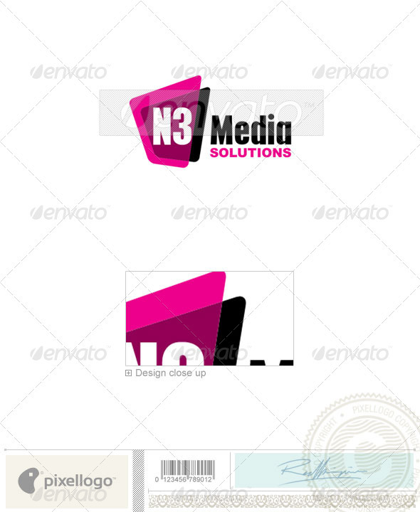 Marketing Logo - 2288 - Vector Abstract