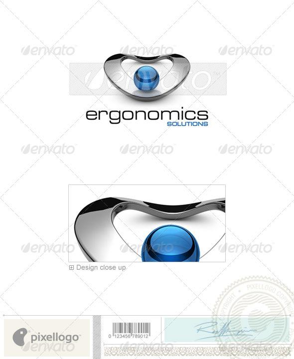 Technology Logo - 3D-538 - 3d Abstract