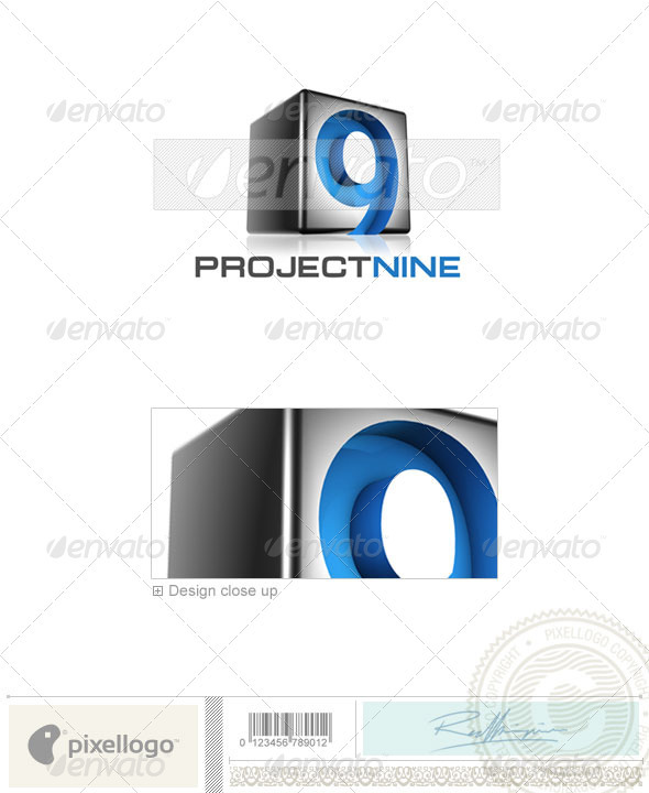 Technology Logo - 3D-529 - 3d Abstract