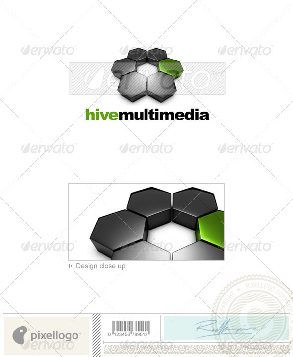 Activities & Leisure Logo - 3D-573 - 3d Abstract