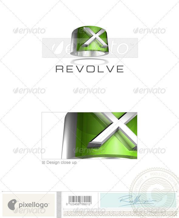 X Logo - 3D-547-X - Letters Logo Templates