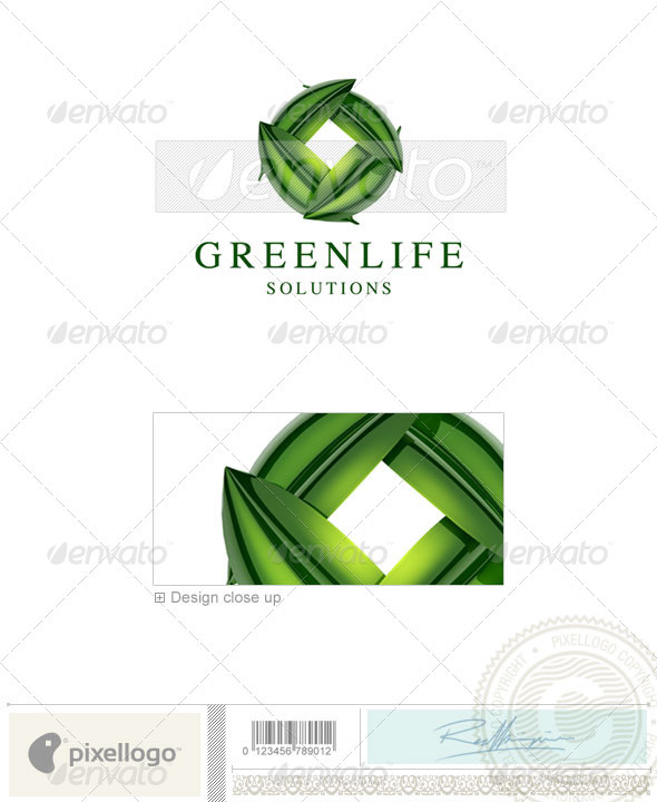 Nature & Animals Logo - 3D-611 - Nature Logo Templates