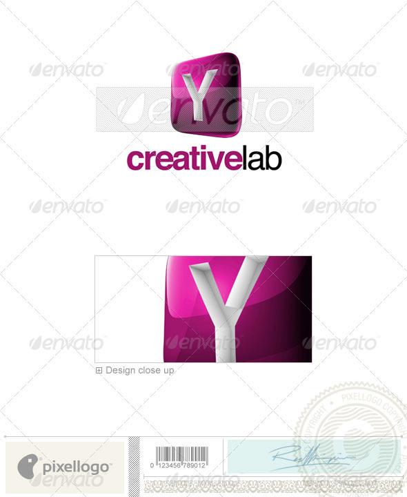 Y Logo - 3D-687-Y - Letters Logo Templates