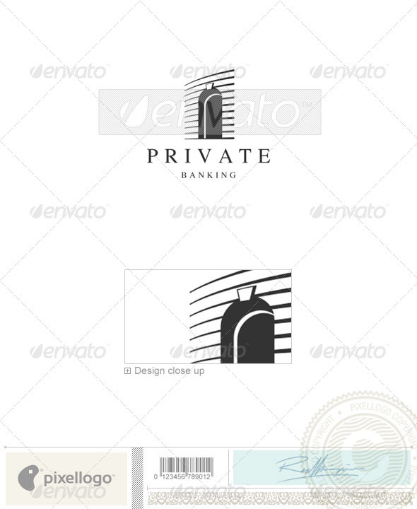 Home & Office Logo - 727 - Buildings Logo Templates