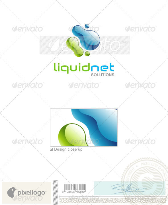 Print & Design Logo - 773 - Vector Abstract