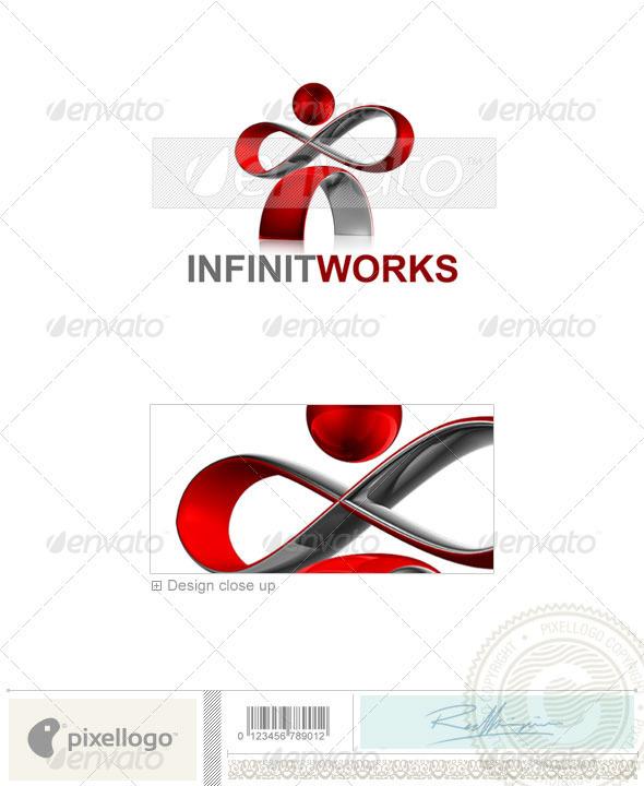 Technology Logo - 3D-500 - 3d Abstract