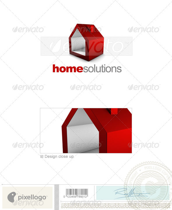 Real Estate Logo - 3D-707 - Buildings Logo Templates