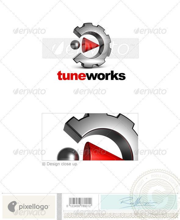 Home & Office Logo - 3D-530 - 3d Abstract