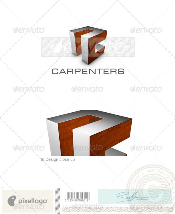 Construction Logo - 3D-701 - Buildings Logo Templates