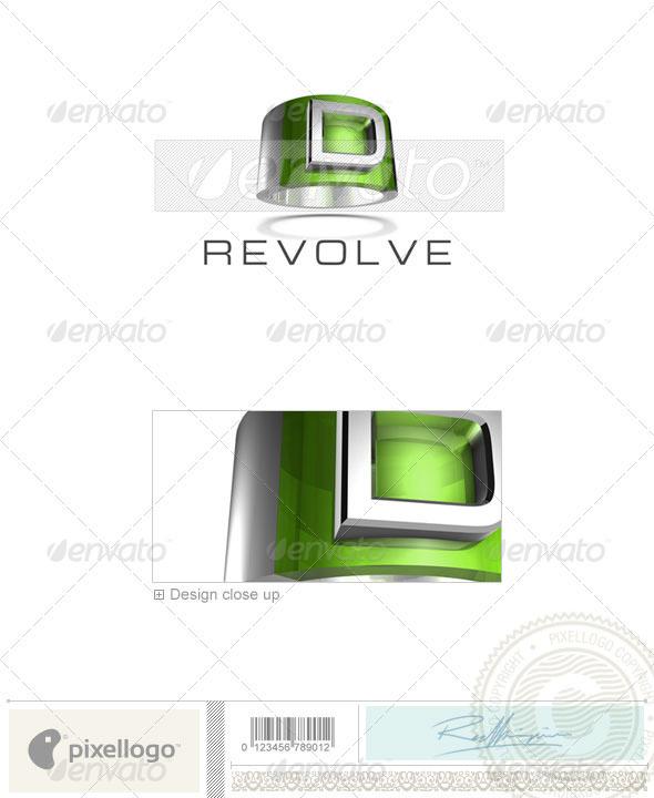 D Logo - 3D-547-D - Letters Logo Templates