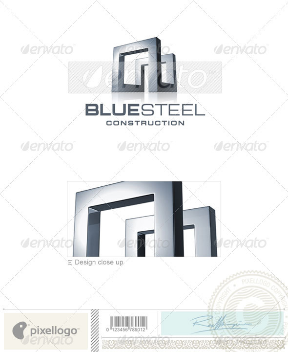 Home & Office Logo - 3D-668 - 3d Abstract