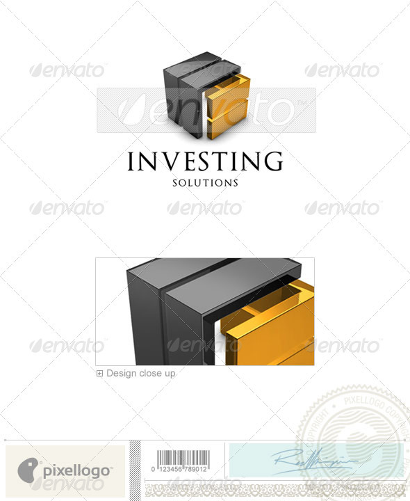 Business & Finance Logo - 3D-581 - 3d Abstract