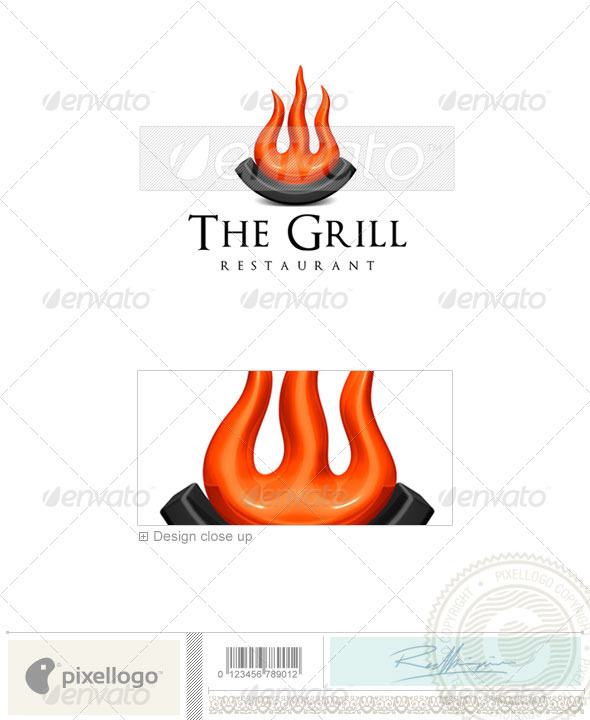 Activities & Leisure Logo - 3D-666 - Food Logo Templates