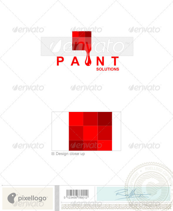 Print & Design Logo - 981 - Vector Abstract