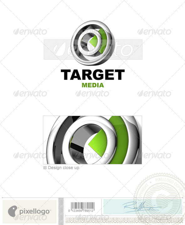 Business & Finance Logo - 3D-599 - 3d Abstract