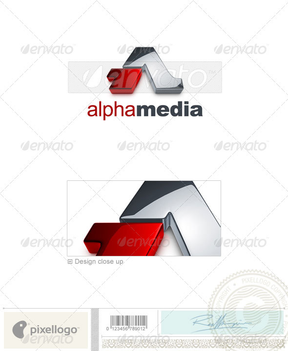 Marketing & Media Logo - 3D-726 - 3d Abstract