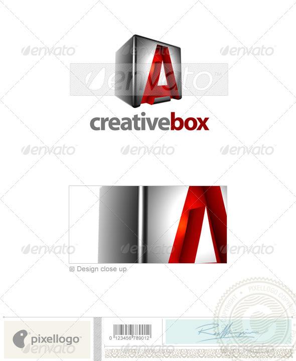 A Logo - 3D-554-A - Letters Logo Templates