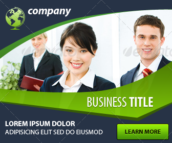 Business Web Banner ad Design by myboodesign | GraphicRiver