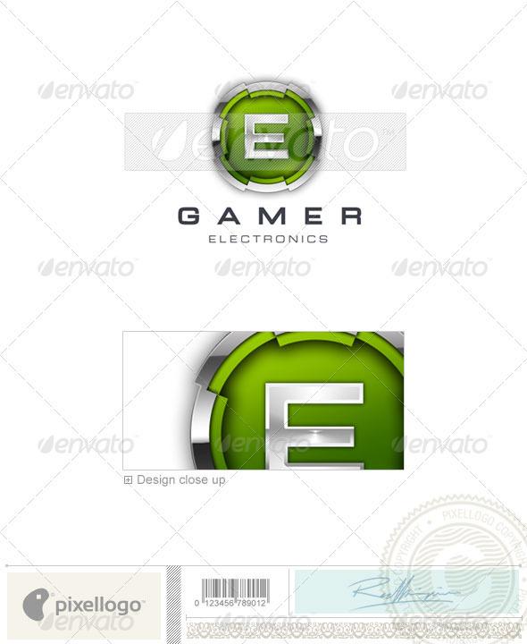 Technology Logo - 3D-53 - 3d Abstract