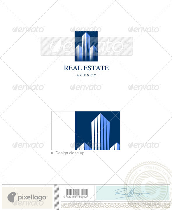 Home & Office Logo - 918 - Buildings Logo Templates
