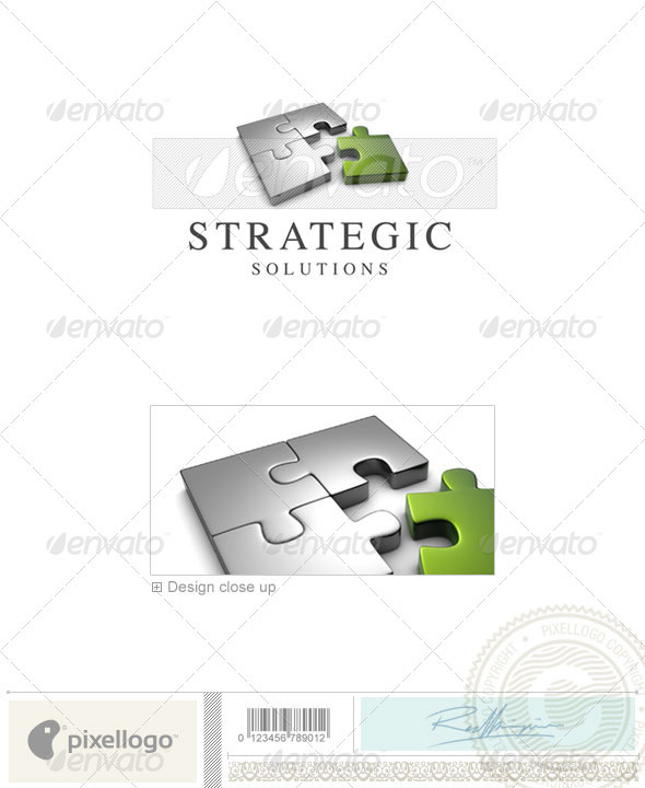 Business & Finance Logo - 3D-631 - 3d Abstract