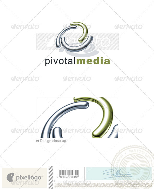 Technology Logo - 3D-678 - 3d Abstract