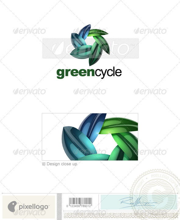 Nature & Animals Logo - 3D-623 - Nature Logo Templates