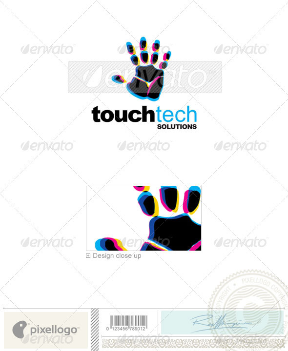 Hand Logo - 2302 - Humans Logo Templates